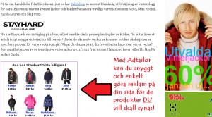 Enkelt att marknadsföra med hjälp av affiliatenätverket adtractions redskap adtailor
