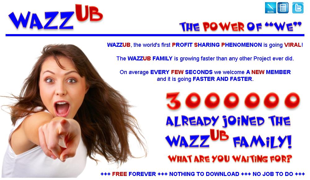 Går det att tjäna pengar på Wazzub eller är det scam?