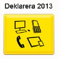 Skattedeklaration 2013